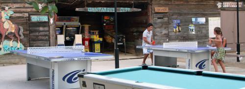 Activités : billard, ping pong